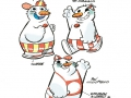 pup di neve col