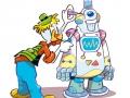 ricercatori-archimede e robot