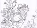 Dinamite-Bla-Paperoga-Moe-Fethry-pencil-